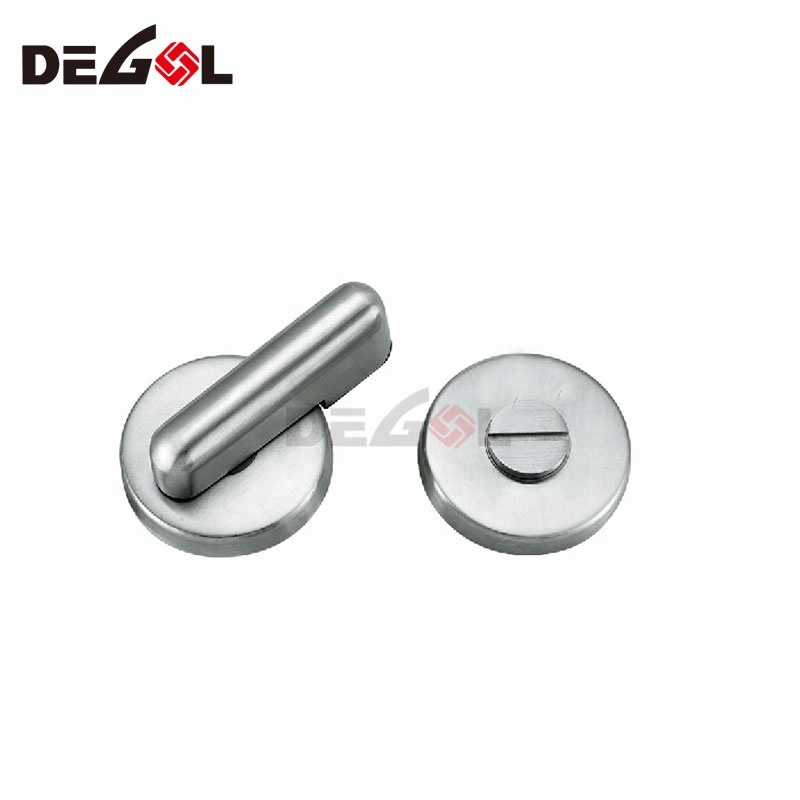 Stainless Steel WC Indicator Thumb Turn Lock
