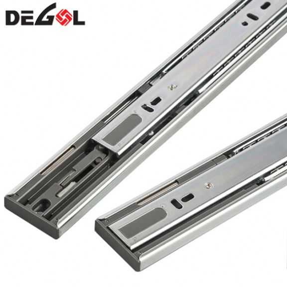 Fast Delivery Bottom Mount Soft Close Drawer Guide Slides Slide