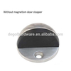 Hotel Door Stop Type Sliding Rubber Stopper for Glass Shower Door