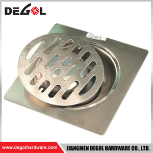 Door Handle With Pin Concrete Metal Stainless Steel Floor Drain Grate