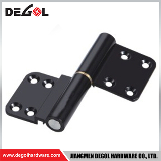 WSH1017 aluminum alloy black casement flag outward opening window hinges