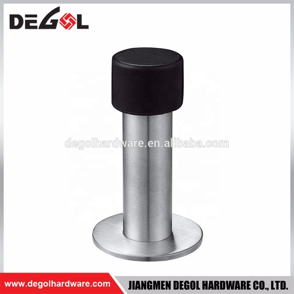 China Cheap Hardware Accessories Magnetic Wall Stainless Steel Floor Door Stopper