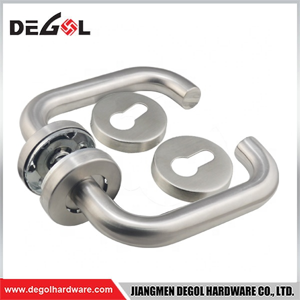 Supply all kinds of stainless steel entrance and interior door handle