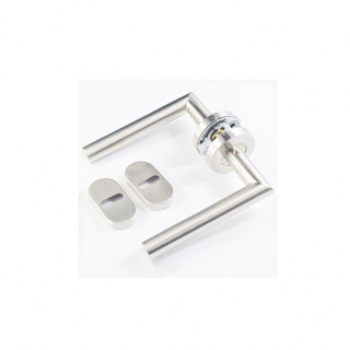 Hot Sale Stainless Steel High Security Solid Lever Apartment Door Handles Dubai