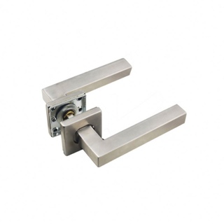 China supplier stainless steel heavy duty solid lever apartment door hardware levers and handles