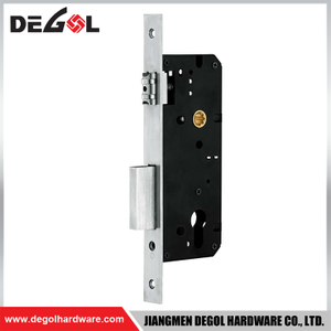 40*85mm stainless steel security door lock mortise lock for sliding door