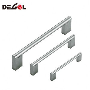 Full Size Modern Stainless Steel Kitchen Cabinet Door Drawer T Bar Handles Pulls