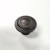ZK140 Zinc Alloy Furniture Drawer Black Antique Copper Satin Nickel Cabinet Knob