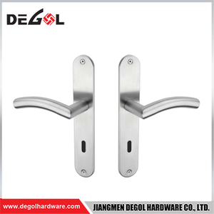 BP1021 Stainless Steel Door Handle on plate