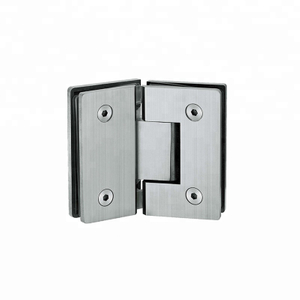Europe Style 180 degree glass shower hinge glass clamp