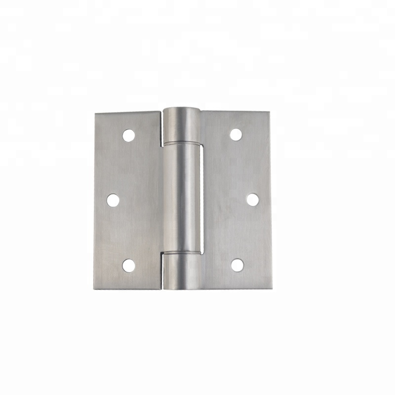 Top quality single action adjustable loaded sus304 stainless steel spring hinge
