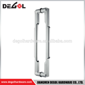 DP1004 Top Quality Stainless Steel Back To Back Entry Glass Door Round Sus304 Pull Handle