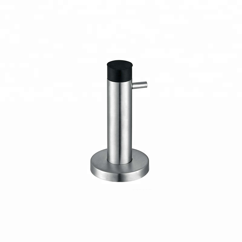 Cheap wall stainless steel magnetic spring sliding glass shower stop door magnet stopper