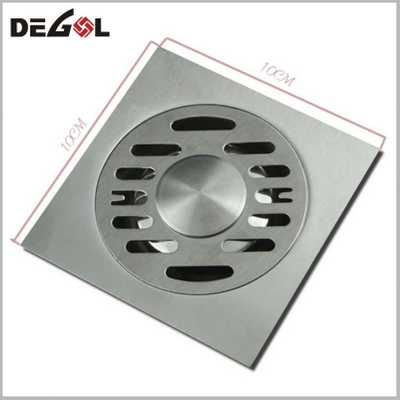 Tube Shower Square Bathroom Drain Floor Cover