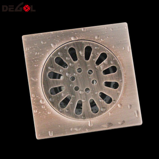 Hot Selling With Square Tile Insert Floor Drain Cover