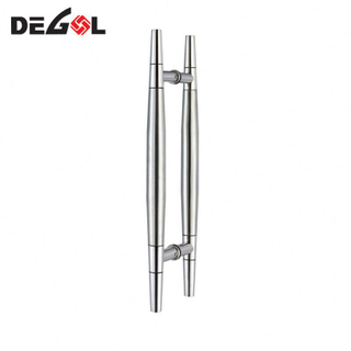 Manufacturers in china stainless steel solid lever apartment stainless steel glass door handle