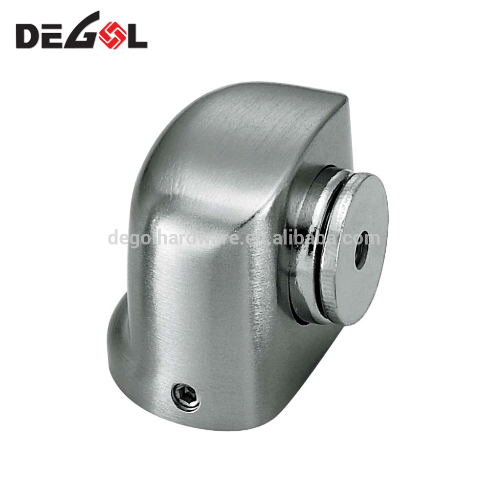 foot operated door stop stainless steel stopper stay spring loaded