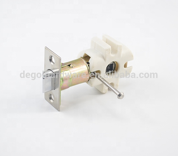 Stainless privacy bathroom sliding lever handle locks for door