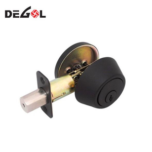 Factory Direct Body With 4 Round Deadbolt Rim EU Fingerprint Lock