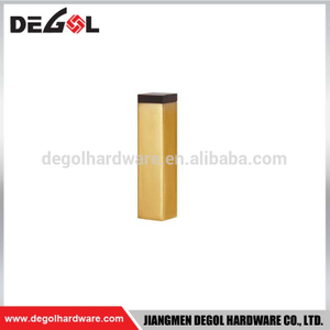 Good quality stainless steel door lock stopper zinc alloy gold bar door stopper